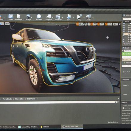3D Simulation - Nissan Patrol 2020 هیت لند | HiT Land