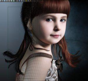 3D Visualize Award winner Character - Bonnny Girl